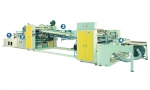 Folding box automatic paste box machine